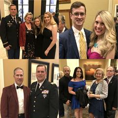 Parker Straus team and their guests attended the 2018 Cowtown Warriors Ball at the Fort Worth Club