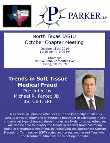 Trends in Soft Tissue Medical Fraud